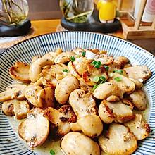 黄油煎口蘑