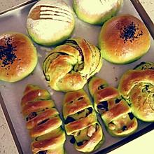菠菜中种面包