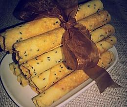 营养价值极高的  #椰香味的玉米蛋卷#的做法