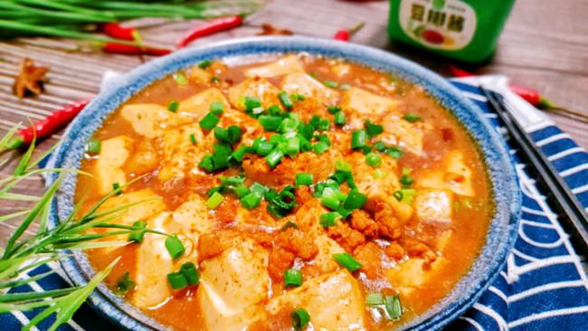 麻婆豆腐,在家做出正宗好味道,麻辣鲜香很下饭的做法