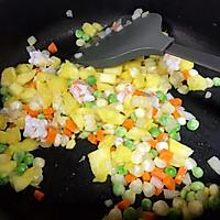 泰式菠萝饭的做法图解3
