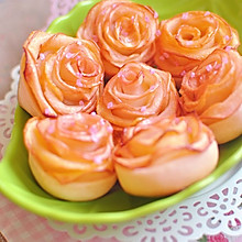 玫瑰苹果卷 可以吃的浪漫