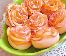 玫瑰苹果卷 可以吃的浪漫的做法