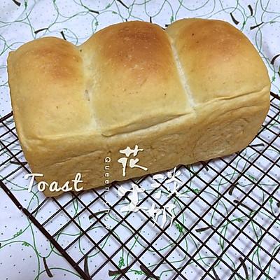 【女王厨房】花生淡奶吐司(酵头版)