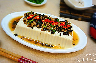 一品鲜蒸豆腐