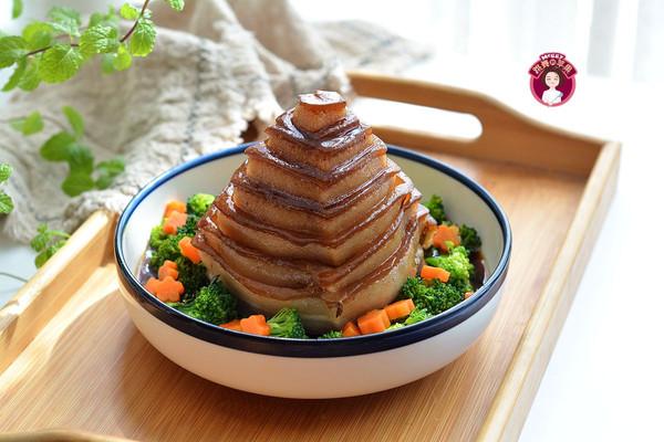 竹笋宝塔肉的做法