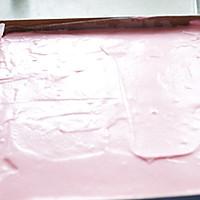 萌兔子彩绘蛋糕卷#特百惠龙卷风佳作#的做法图解14