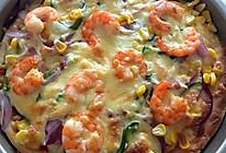 培根海鲜披萨的做法