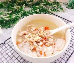 #初春润燥正当时#煲汤+花生枸杞子猪肚汤的做法