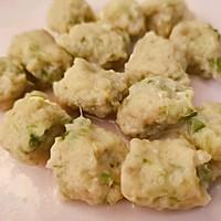 一口一个的鸡脯肉鸡肝蔬菜丸子,宝宝吃的停不住的作法流程详解5