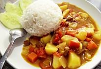 咖喱土豆饭,怀念的味道的做法