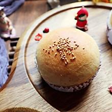 比面包好吃的全麦汉堡胚(一次发酵)