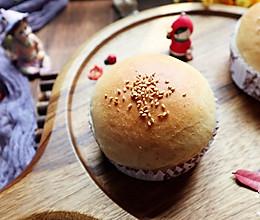 比面包好吃的全麦汉堡胚(一次发酵)的做法