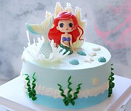 美人鱼蛋糕#重返18岁的少女心美食#的做法