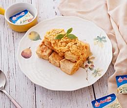 黄油蛋黄滑豆腐的做法
