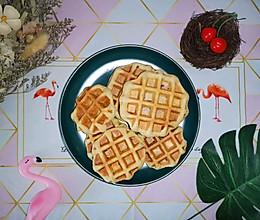 无油版全麦华夫饼(减脂菜单)的做法