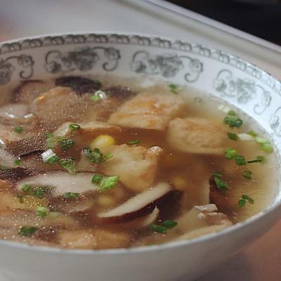 双菇豆腐汤——补钙、微量元素、优质蛋白质