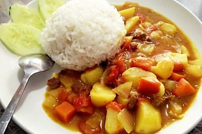 咖喱土豆饭,怀念的味道