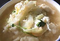 虾皮白菜疙瘩汤的做法