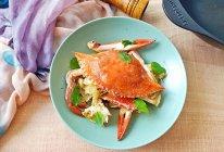 麻油梭子蟹的做法