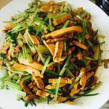 芹菜炒香干肉丝