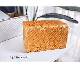 奇亚籽谷物燕麦吐司(一次性发酵)的做法