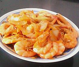 虾炒洋葱的做法