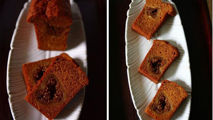 焦糖无花果磅蛋糕