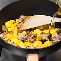南瓜排骨焖饭的做法图解7
