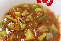 西安回民街✨肉丸胡辣汤✨的做法