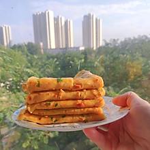 #夏日开胃餐#胡萝卜火腿鸡蛋煎饼