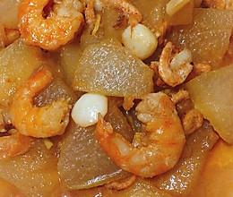 对虾炖冬瓜块的做法