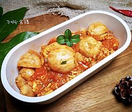 """#美食说出""""新年好""""#无米西红柿蘑菇鸡蛋烩饭~好吃低卡无负担的做法"""