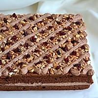 可可奶油果仁蛋糕#美的烤箱菜谱#的做法图解25