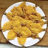 黄金虾排的做法图解4