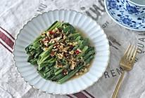 夏季饭桌不能少的蒜蓉油麦菜的做法