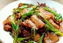 尖椒五花肉的做法
