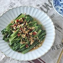夏季饭桌不能少的蒜蓉油麦菜