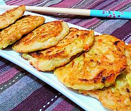 老北京糊塌子—西葫芦煎饼的做法