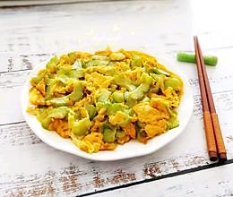 #春天肉菜这样吃#苦瓜煎鸡蛋的做法