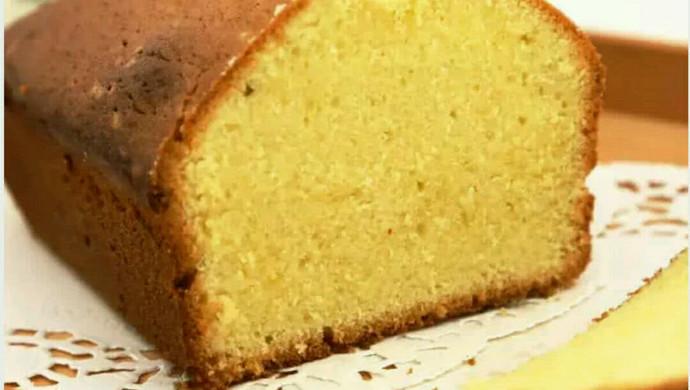 传统原味磅蛋糕