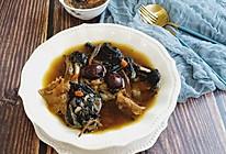 茶树菇红枣乌鸡汤的做法