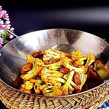 干锅花菜#春天不减肥,夏天肉堆堆#
