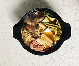 少油版麻辣砂锅的做法