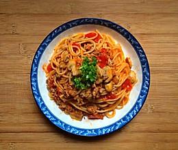 Pasta con salsa的做法
