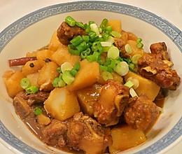 私房土豆炖排骨的做法