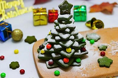 圣诞树饼干(不打发黄油)
