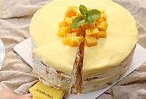 零基础做芒果千层蛋糕(8寸)的做法