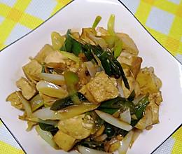 #营养小食光#家常葱烧豆腐的做法
