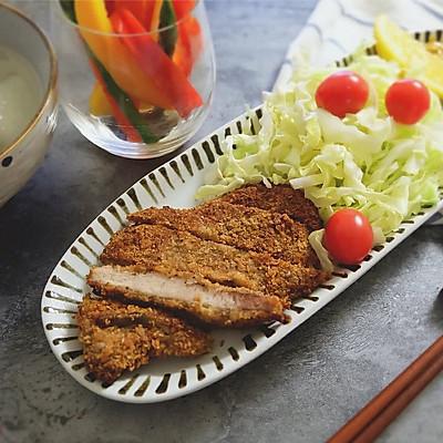 健康低卡炸猪排(烤箱版)